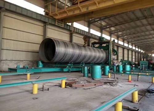 螺旋钢管质量